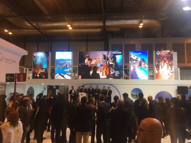 Totana presents its tourist offer in FITUR within the exhibition of the Commonwealth of Tourism of Sierra Espuña,