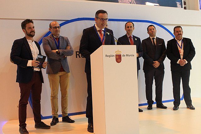 Totana presents its tourist offer in FITUR within the exhibition of the Commonwealth of Tourism of Sierra Espuña,, Foto 2