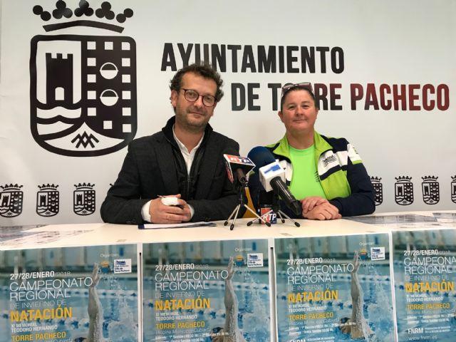 Campeonato Regional de Invierno de Natación en Torre-Pacheco los días 27 y 28 de enero - 1, Foto 1