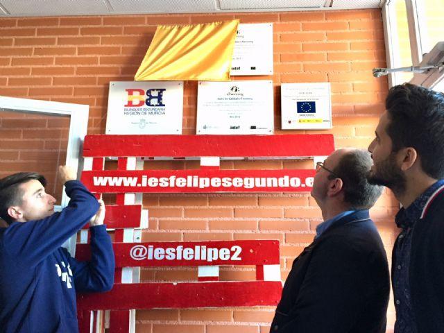 El IES Felipe II suma un nuevo sello de calidad E-Twinning - 1, Foto 1