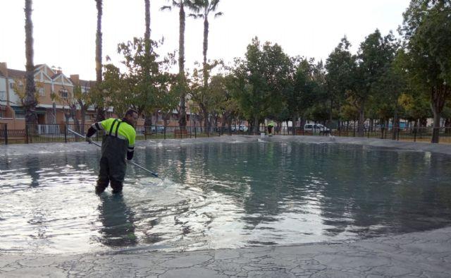 El Ayuntamiento realiza durante 2019 más de 17.000 actuaciones en fuentes y lagos del municipio - 1, Foto 1