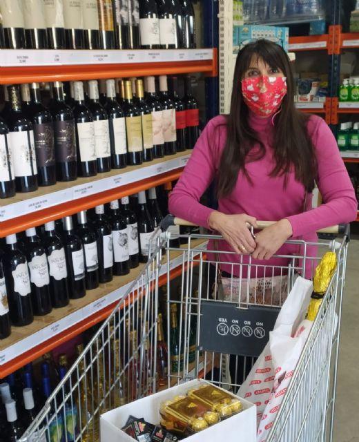 La campaña 'Alguazas es un Regalo' genera más de 12.000 compras durante la Navidad en los comercios locales - 1, Foto 1