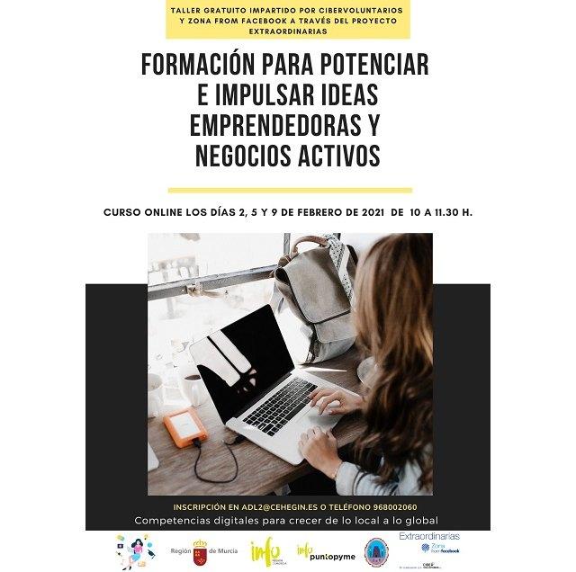 Taller gratuito online para mujeres emprendedoras y empresarias - 1, Foto 1