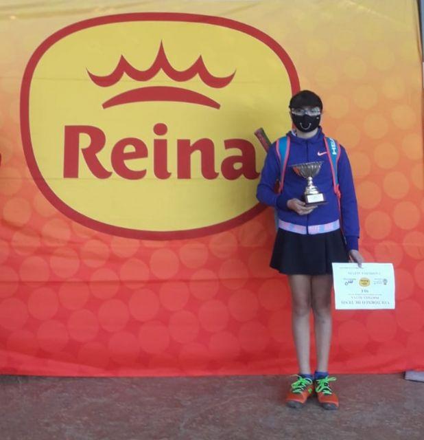 María Martínez, del Mazarrón Club de Tenis, campeona, Foto 1