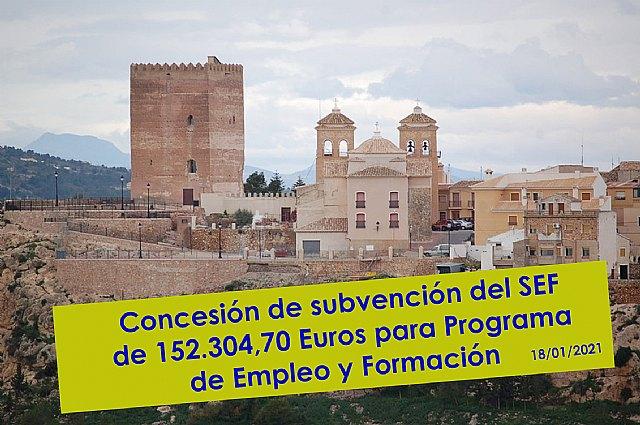 """Concesión de 152.304,70 euros para el PMEF """"Adecuación paraje Estrecho de la Arboleja 2020 - 1, Foto 1"""