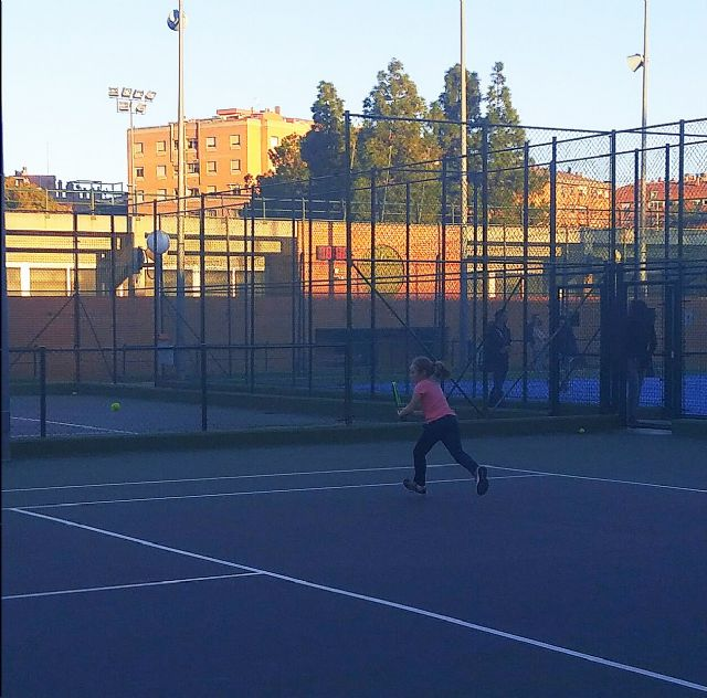 El Club Tenis Kuore de Totana particip� en el Torneo INICIATENIS en Murcia, Foto 2
