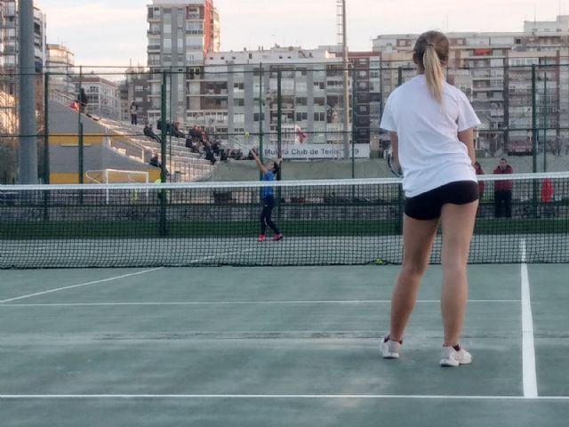 El Club Tenis Kuore de Totana particip� en el Torneo INICIATENIS en Murcia, Foto 8