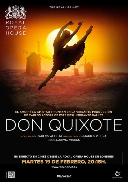 """La Regi�n de Murcia acoge mañana la emisi�n en directo desde Londres de """"Don Quijote"""", del Royal Ballet, Foto 3"""