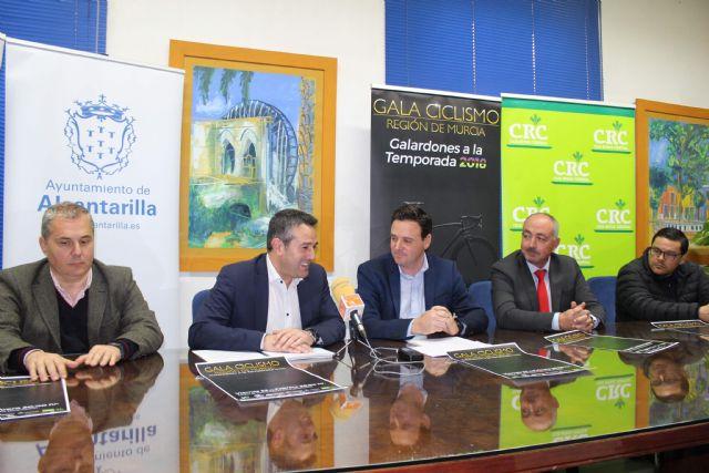 Presentada la Gala de Ciclismo de la Región de Murcia 2018, que se celebrará el próximo viernes en Alcantarilla - 2, Foto 2