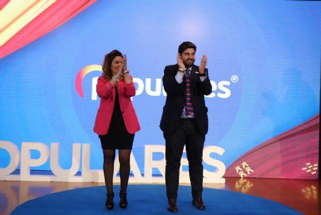López Miras: Silvia Ruiz es la persona necesaria para que se vuelva a crear empleo de calidad en Alguazas - 1, Foto 1