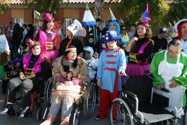 The Disability Day Centers celebrate this Thursday, February 20, the II Adapted Carnival of Totana, Foto 2