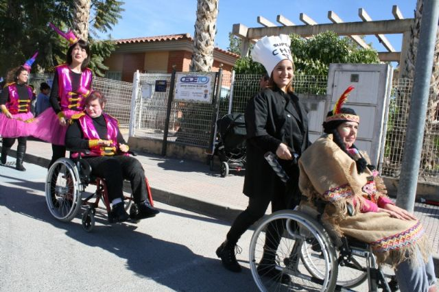 The Disability Day Centers celebrate this Thursday, February 20, the II Adapted Carnival of Totana, Foto 4