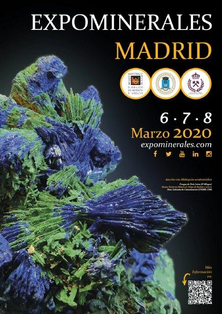 Madrid, epicentro de las Ciencias de la Tierra durante Expominerales Madrid 2020 - 1, Foto 1