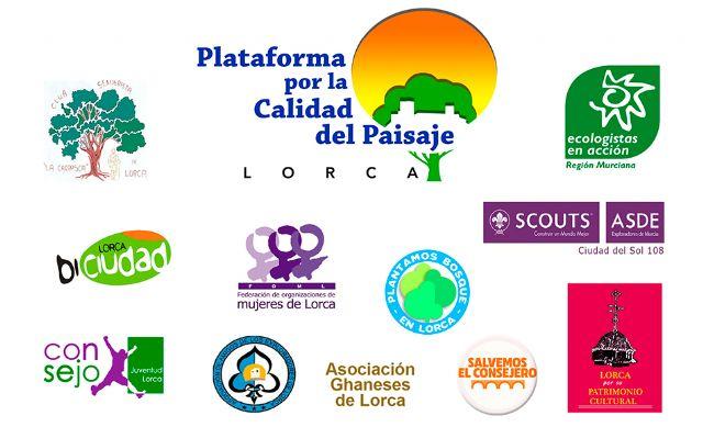 La Plataforma del Paisaje de Lorca crece con tres importantes entidades más. Y ya son once - 1, Foto 1