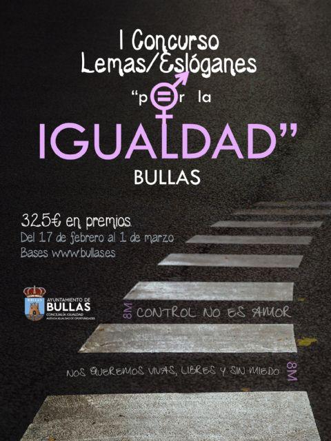 I Concurso de lemas y eslóganes por la Igualdad - 1, Foto 1