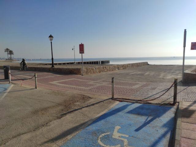 El Ayuntamiento de Los Alcázares habilita temporalmente el canal de acceso para embarcaciones de La Rambla - 1, Foto 1
