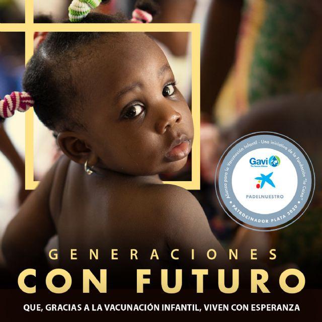 Padel Nuestro colabora con Gavi, The Vaccine Alliance, en la lucha contra la mortalidad infantil - 1, Foto 1