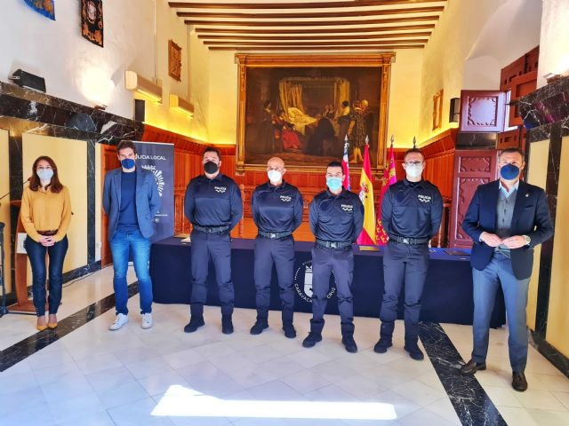 El Ayuntamiento de Caravaca de la Cruz suma cuatro nuevos agentes al cuerpo de la Policía Local - 1, Foto 1