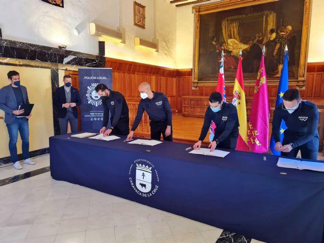 El Ayuntamiento de Caravaca de la Cruz suma cuatro nuevos agentes al cuerpo de la Policía Local - 2, Foto 2