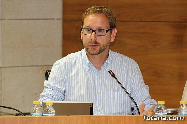 Carlos Enrique Ballester Méndez, concejal de Urbanismo, en una foto de archivo / Totana.com, Foto 1