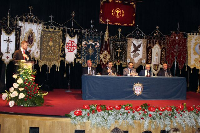 Marcial Alarcón anunció la Semana Santa en el Pregón que ayer se celebró en Alcantarilla - 3, Foto 3
