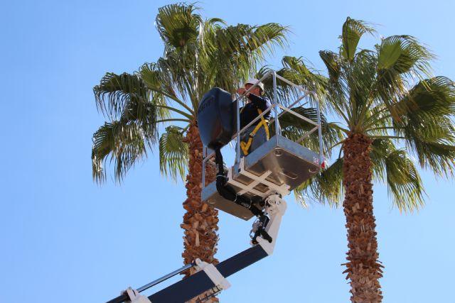 El Ayuntamiento adquiere un vehículo con plataforma telescópica para las brigadas municipales, Foto 3