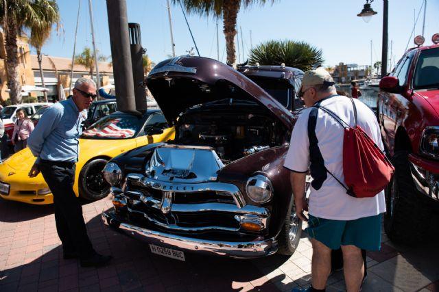 Concentración de vehículos clásicos en Puerto de Mazarrón, Foto 3
