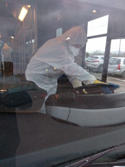 Limusa multiplica su operativo de limpieza desinfectante en la red viaria y transporte urbano, así como en el interior de estancias municipales y consultorios médicos - 1, Foto 1