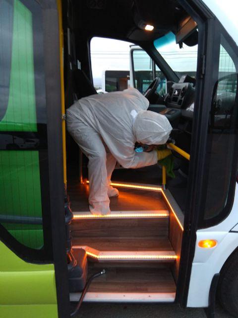 Limusa multiplica su operativo de limpieza desinfectante en la red viaria y transporte urbano, así como en el interior de estancias municipales y consultorios médicos - 2, Foto 2