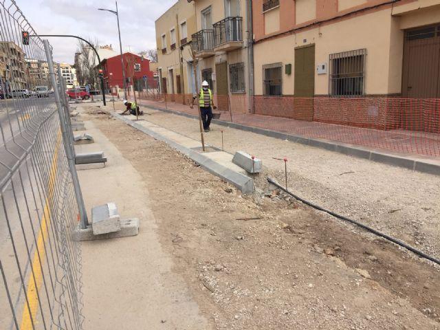 Cultura explica el proceso de supervisión arqueológica que se está realizando en las obras de la avenida de la Asunción - 1, Foto 1