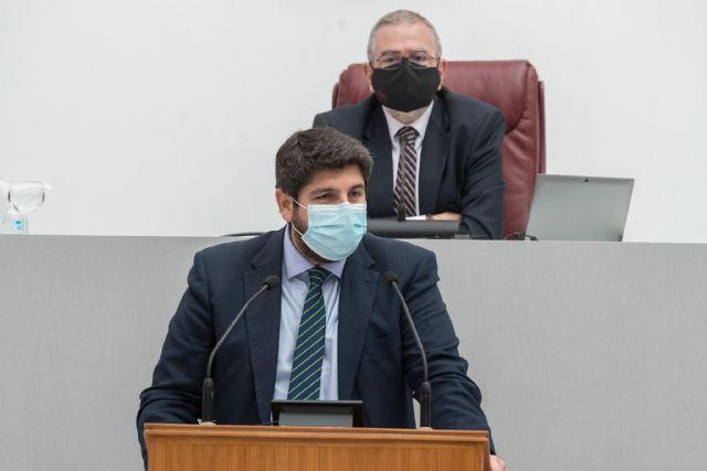 López Miras seguirá siendo el presidente del Consejo de Gobierno al no prosperar la moción de censura