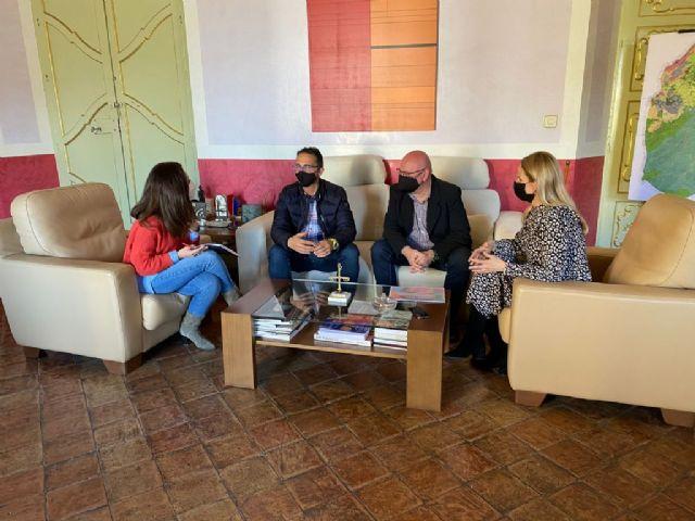 D´Genes se reúne con representantes municipales de Cehegín, a quienes presenta los principales proyectos de la asociación para 2021 - 2, Foto 2
