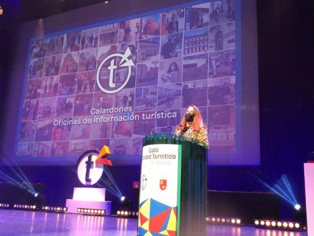 Reconocimiento al Ayuntamiento de Alhama en la I Gala de Calidad Turística de la Región de Murcia - 1, Foto 1