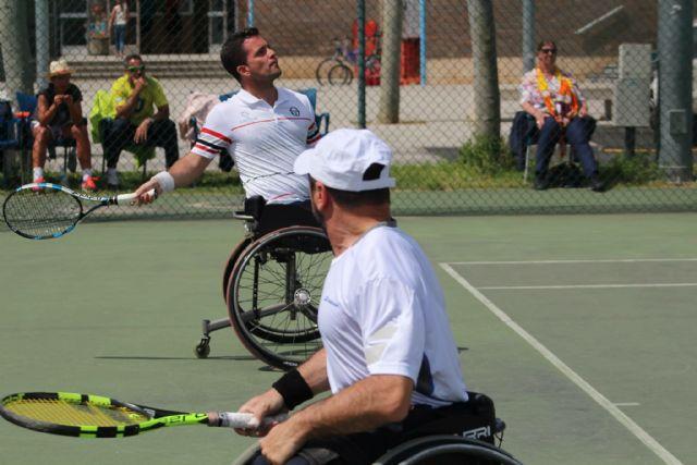 El pachequero Enrique Siscar se proclama Campeón de España de Tenis en Silla de Ruedas en la categoría de dobles - 2, Foto 2
