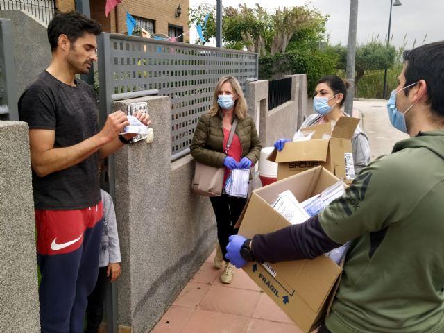 El Ayuntamiento inicia el reparto domiciliario de 5.000 paquetes con material de protección - 3, Foto 3