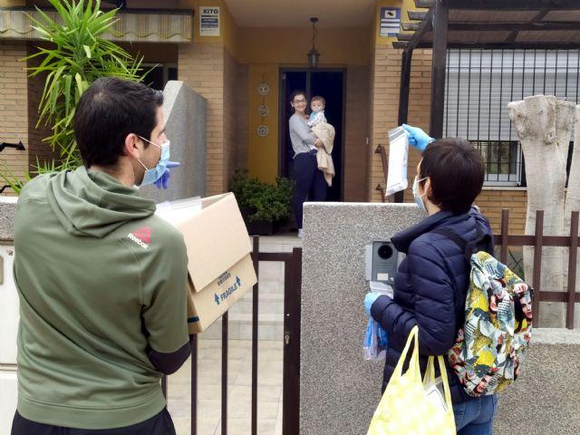 El Ayuntamiento inicia el reparto domiciliario de 5.000 paquetes con material de protección - 4, Foto 4
