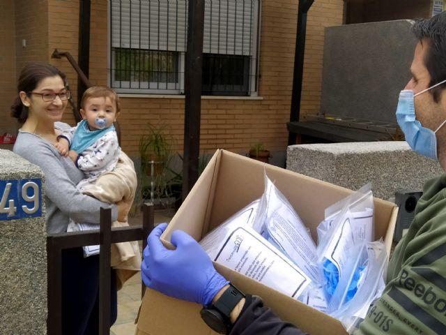 El Ayuntamiento inicia el reparto domiciliario de 5.000 paquetes con material de protección - 5, Foto 5
