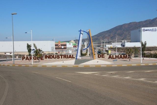 Hoy se desinfectará el parque industrial de Alhama, Foto 1