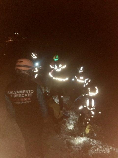 Rescatan a 6 escaladores enriscados en una vía ferrata de la Sierra del Lugar (Fortuna) - 1, Foto 1