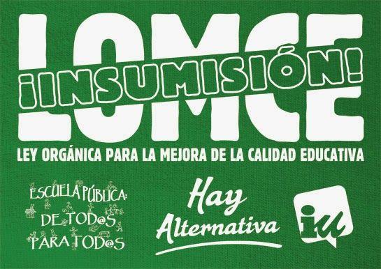 IU-Verdes Cieza apoya la desobediencia civil frente a las reválidas - 1, Foto 1