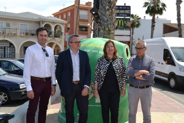 San Pedro se une a Ecovidrio en la campaña Vidriosueño, luchando por un Sueño - 1, Foto 1