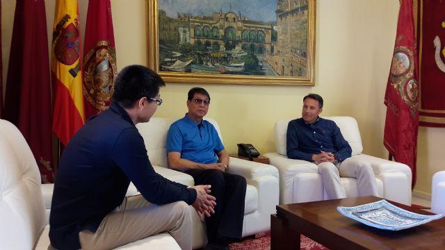 El Alcalde desea suerte al Lorca Fútbol Club en su fase de ascenso a 2ª división, Foto 1
