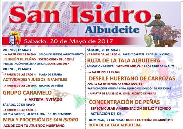 Albudeite vive este próximo fin de semana las Fiestas en Honor de San Isidro Labrado - 3, Foto 3