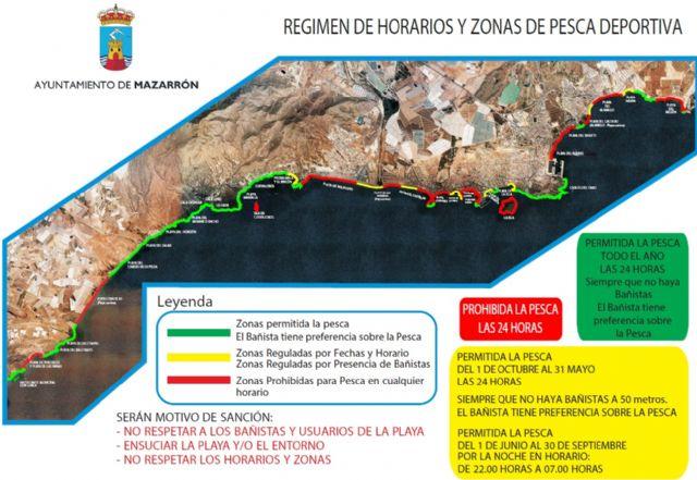 El BOE publica el restablecimiento de la pesca deportiva y de recreo, Foto 1