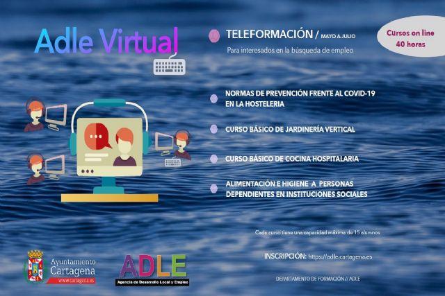 La ADLE pone en marcha cuatro cursos de formación online - 1, Foto 1