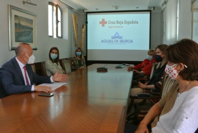 Aguas de Murcia dona más de 2.500 euros a Cruz Roja gracias a las nuevas altas en el área de clientes de su web - 2, Foto 2