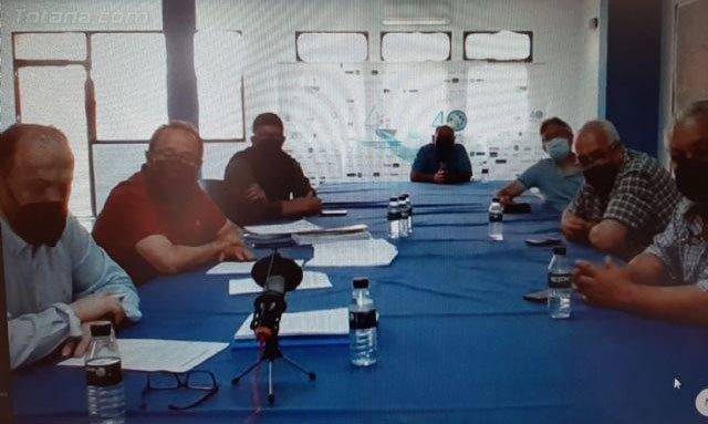 [El presidente de la CHS ha mantenido una reunión con la Comunidad de Regantes del Trasvase Tajo Segura de Totana