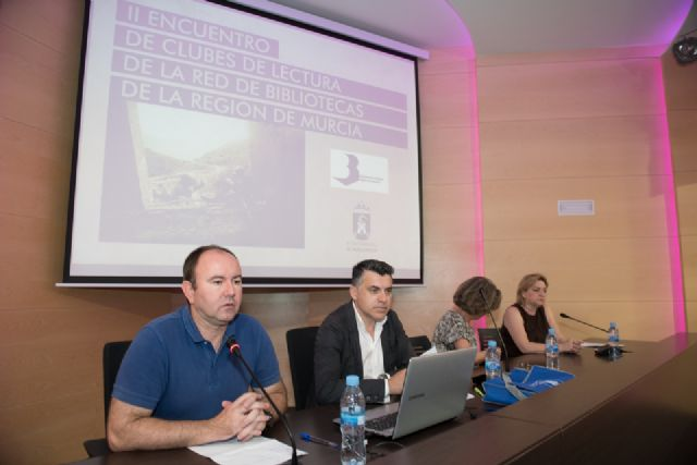 Mazarrón es sede del segundo encuentro regional de clubes de lectura, Foto 1