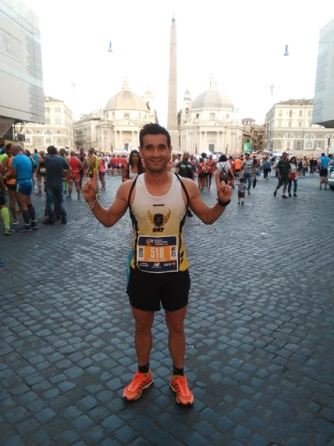 Bartolo Sánchez finishes the Half Marathon of Rome among the top 20, Foto 3