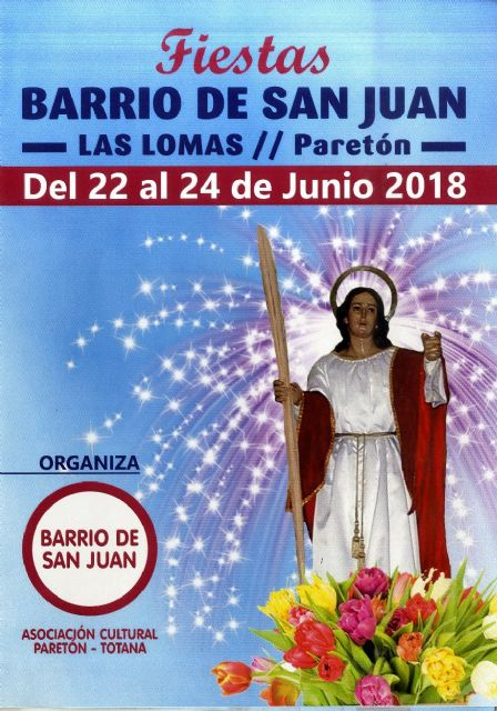 The neighborhood parties of Las Lomas del Paretón are celebrated from June 22 to 24 with an extensive program of activities for this weekend